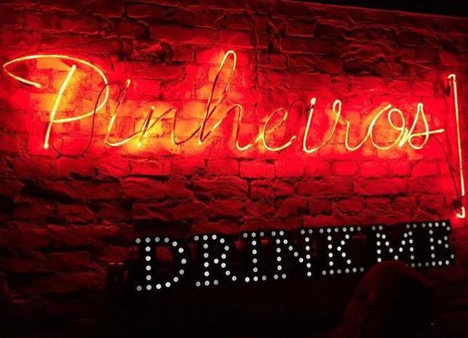 Bares em Pinheiros com comanda individual